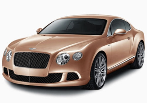 Bentley Continental Amber Color Pictures