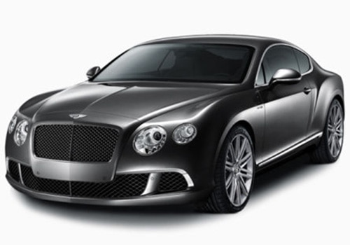 Bentley Continental Silver Color Pictures