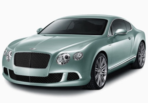 Bentley Continental Green Color Pictures