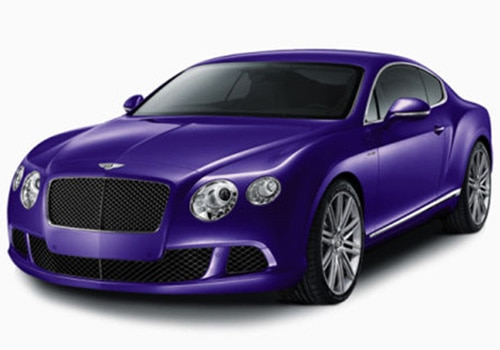 Bentley Continental purple Color Pictures