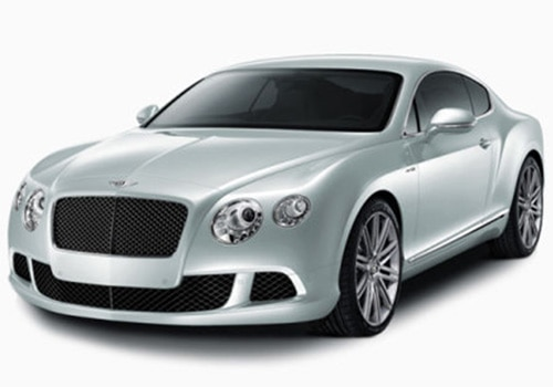 Bentley Continental Blue Color Pictures