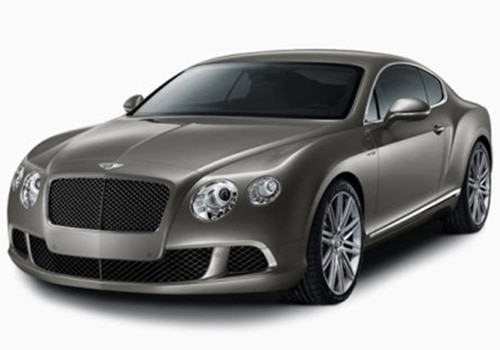 Bentley Continental Grey Color Pictures
