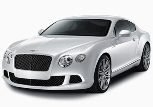Bentley Continental White Color Pictures