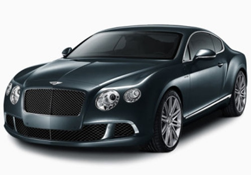 Bentley Continental Black Color Pictures