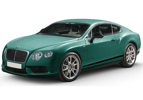 Bentley Continental Aegean Blue Color