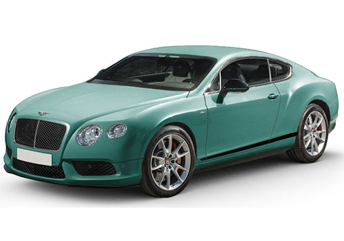 Bentley Continental Alpine Green Color