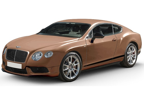 Bentley Continental Amber Color