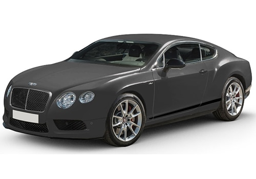 Bentley Continental Anthracite Satin Color