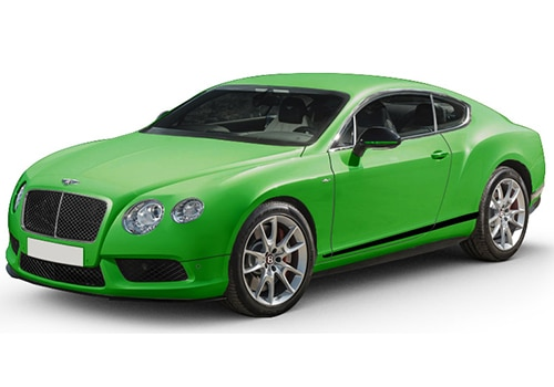 Bentley Continental Apple Green Color