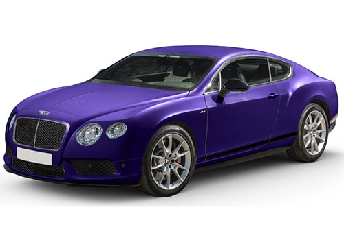 Bentley Continental Azure Purple Color
