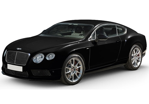Bentley Continental Black Crystal Color