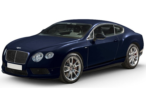 Bentley Continental Black Sapphire Color