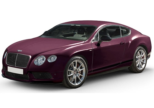 Bentley Continental Black Velvet Color