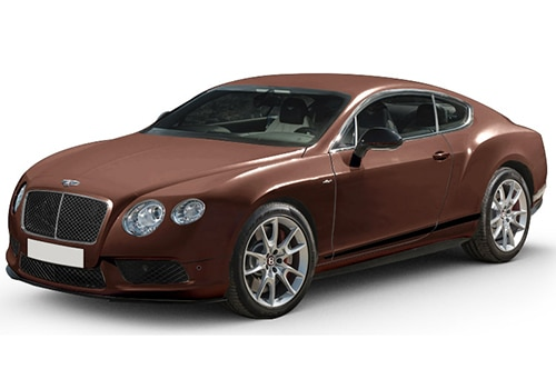 Bentley Continental Bronze Brown Color