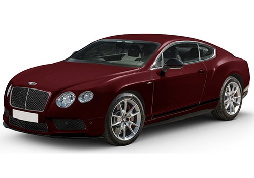 Bentley Continental Burgundy Royal Color
