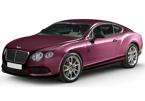 Bentley Continental CLARET Color