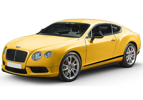 Bentley Continental Continental Yellow Color