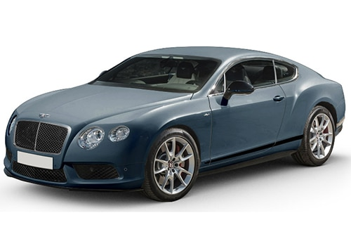Bentley Continental Crystal Black Color