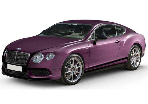 Bentley Continental Damson Color