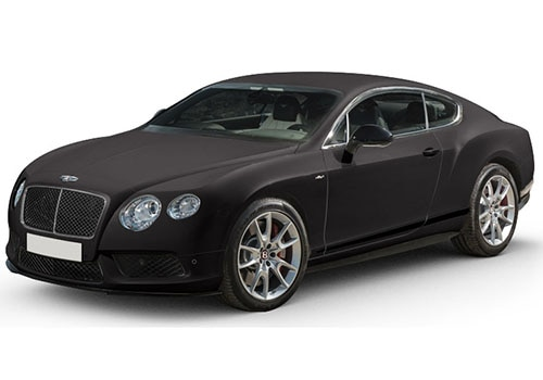 Bentley Continental Dark Grey Satin Color