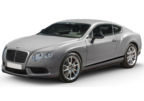 Bentley Continental Extreme Silver Color