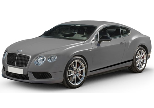 Bentley Continental Light Grey Satin Color