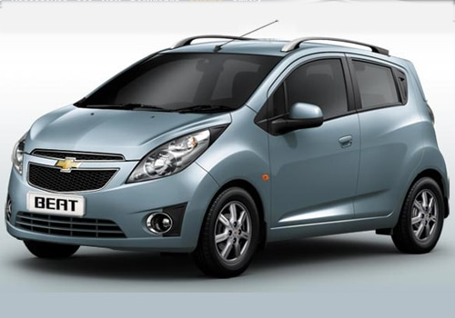 Chevrolet Beat Blue Color Pictures