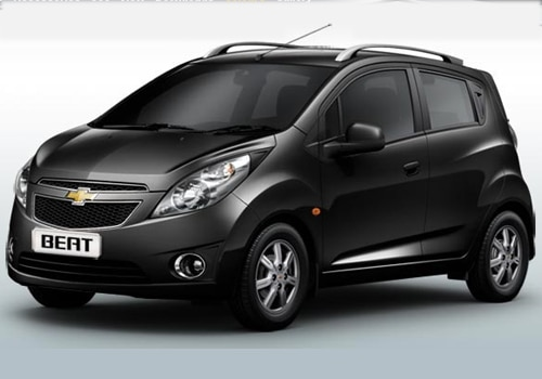 Chevrolet Beat Black Color Pictures