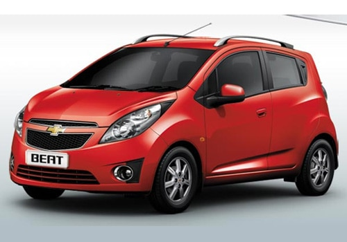 Chevrolet Beat Red Color Pictures