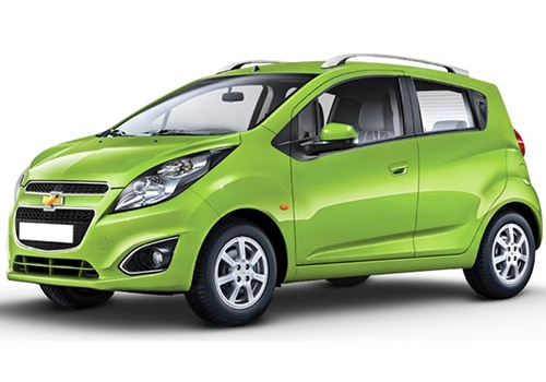 Chevrolet Beat Green Cocktail Color