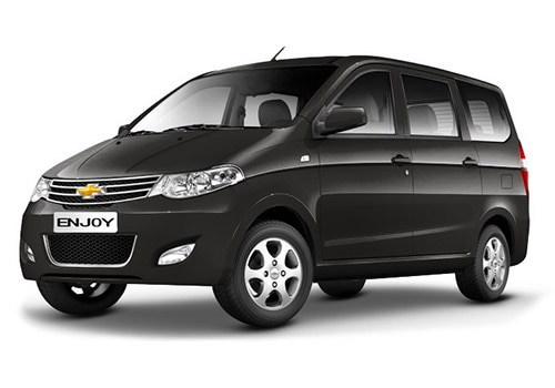 Chevrolet Enjoy Caviar Black Color