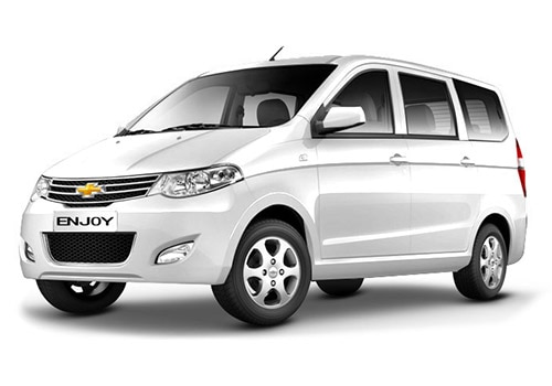 Chevrolet Enjoy Summit White Color