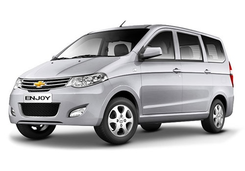 Chevrolet Enjoy 2013-2015 Switch Blade Silver Color
