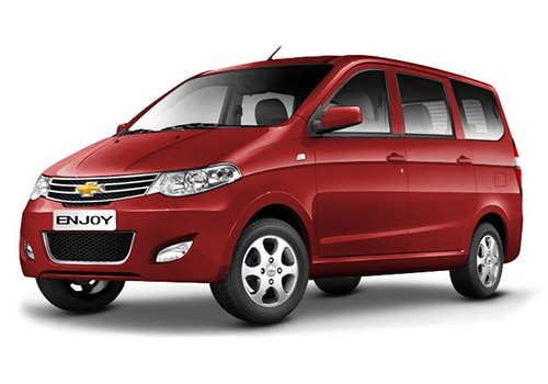 Chevrolet Enjoy Velvet Red Color