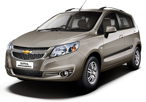 Chevrolet Sail Hatchback Linen Beige Color