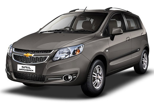 Chevrolet Sail Hatchback Sandrift Grey Color