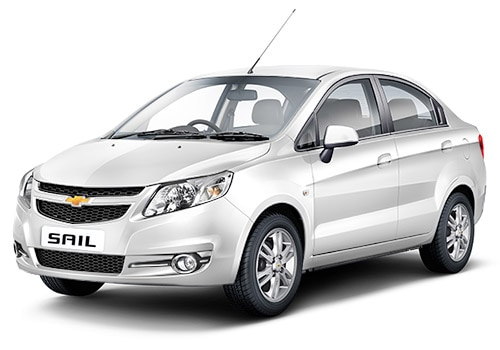 Chevrolet Sail Summit White Color