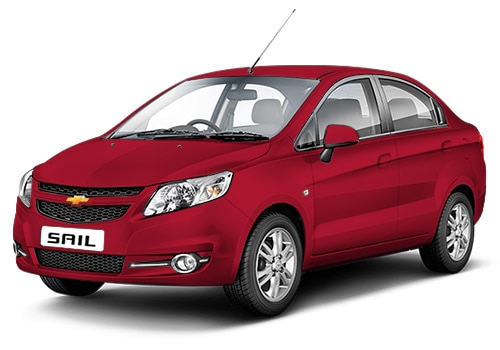 Chevrolet Sail Velvet Red Color