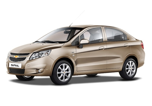 Chevrolet Sail Beige Color Pictures