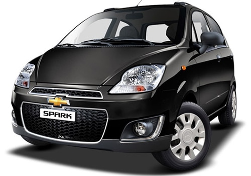 Chevrolet Spark Caviar Black Color