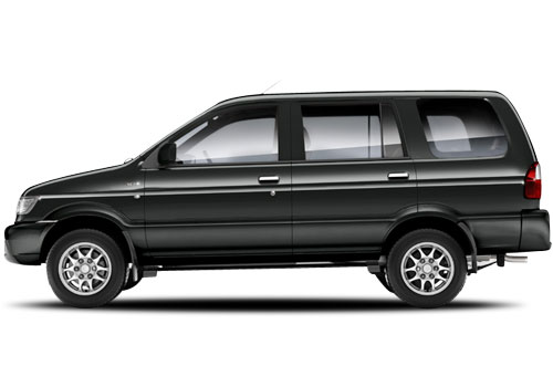 Chevrolet Tavera Caviar Black Color Picture