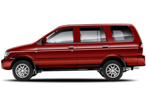 Chevrolet Tavera Red Color Pictures