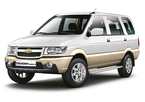 Chevrolet Tavera Moonbeem White - Linen Beige Color