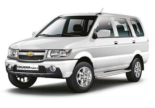 Chevrolet Tavera Summit White Color