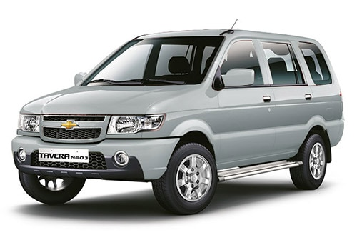 Chevrolet Tavera Switch Blade Silver Color