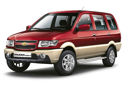 Chevrolet Tavera Velvet Red - Linen Beige Color