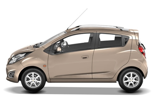 Chevrolet Beat Beige Color Pictures