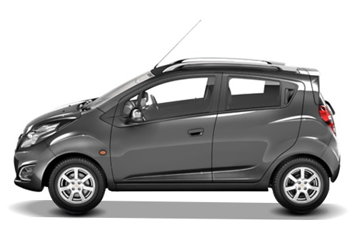 Chevrolet Beat Grey Color Pictures