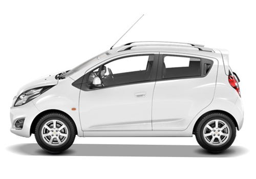 Chevrolet Beat White Color Pictures