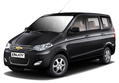 Chevrolet Enjoy Black Color Pictures